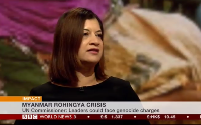 """BHRC co-Vice Chair tells BBC: Rohingya crisis """"bears all the hallmarks of genocide"""""""