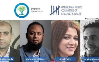 """Event: The """"Chilling Effect"""" of Pre-Trial Detention on Human Rights Defenders in Egypt, Wednesday 11 March 2020, 6pm"""